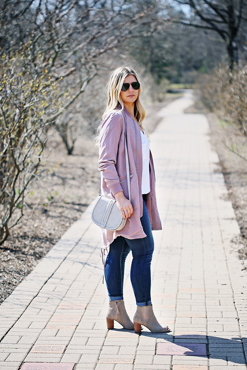 Long Bomber Jacket Outfit 1