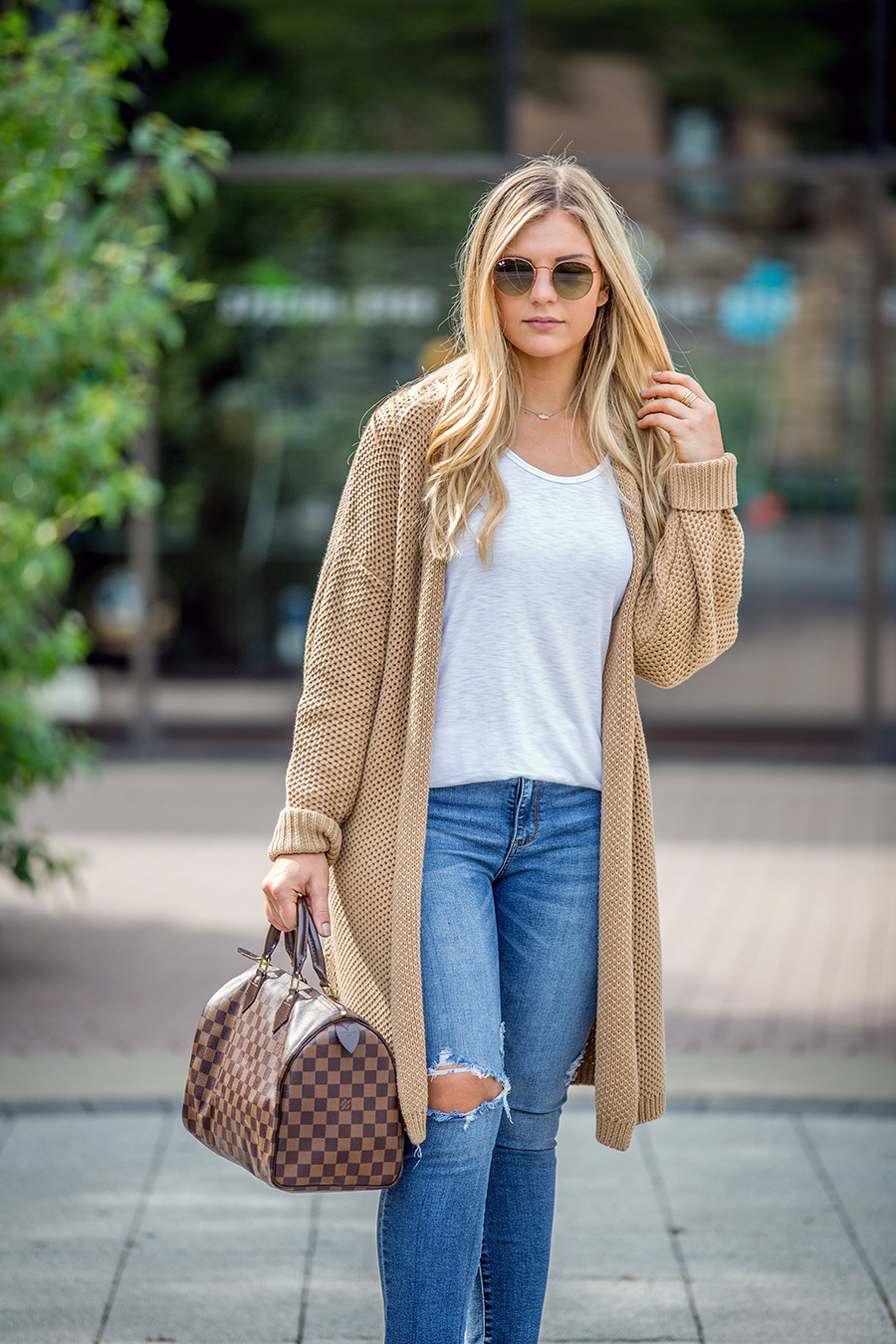 Open Front Cardigan Outfit 11