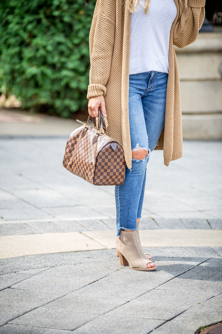 Open Front Cardigan Outfit 3