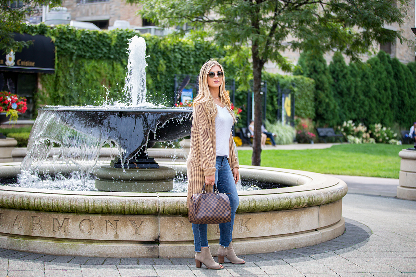 Open Front Cardigan Outfit 2