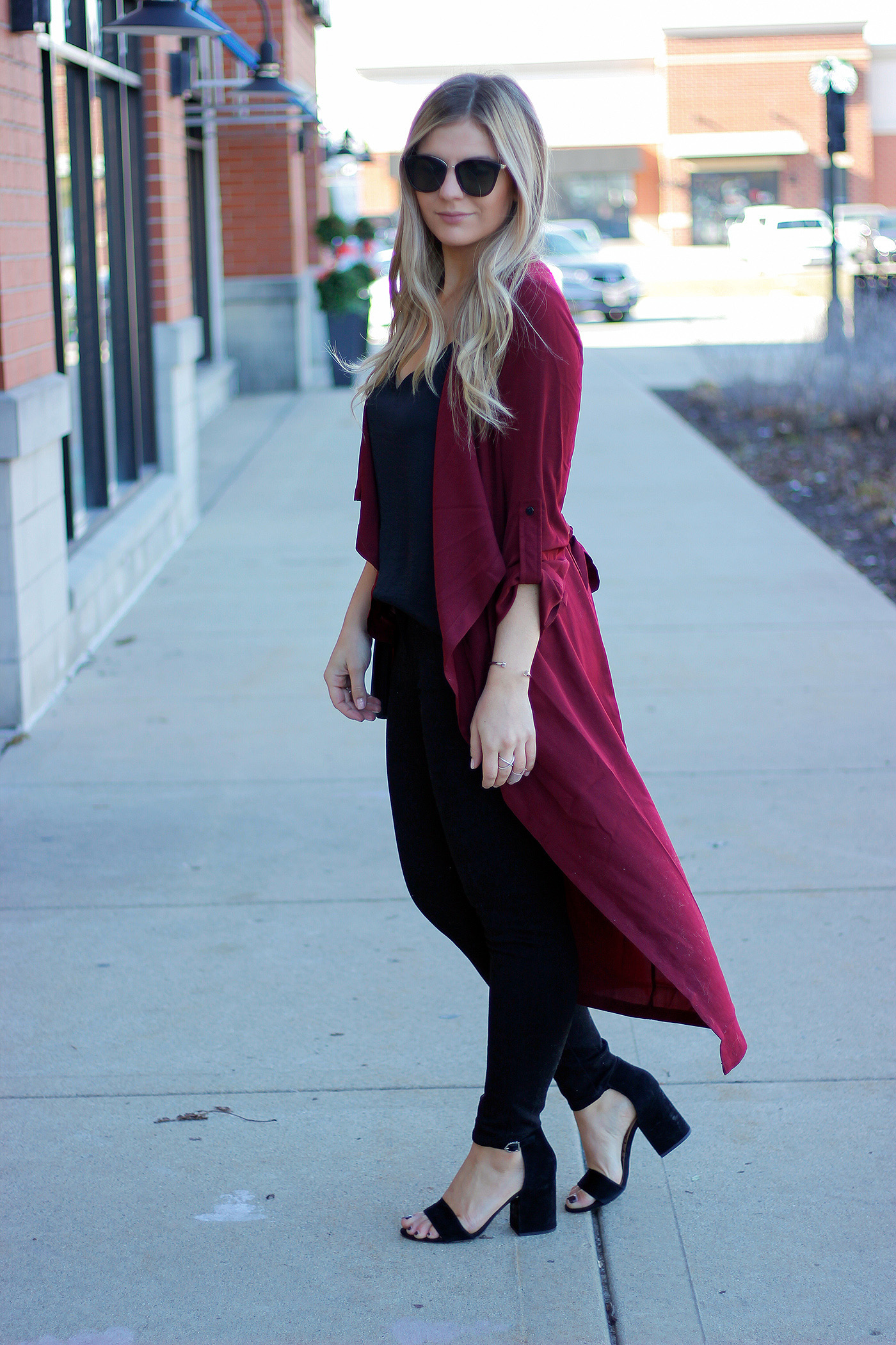 Holiday duster outfit 2