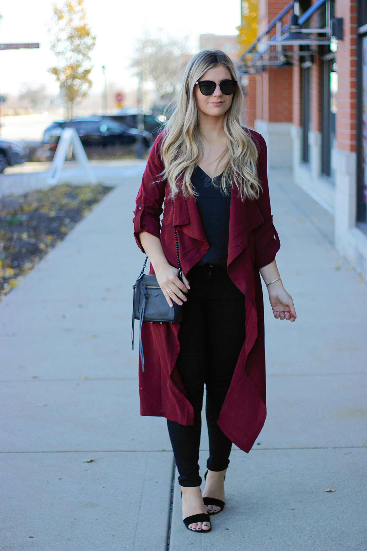 Holiday duster outfit 1