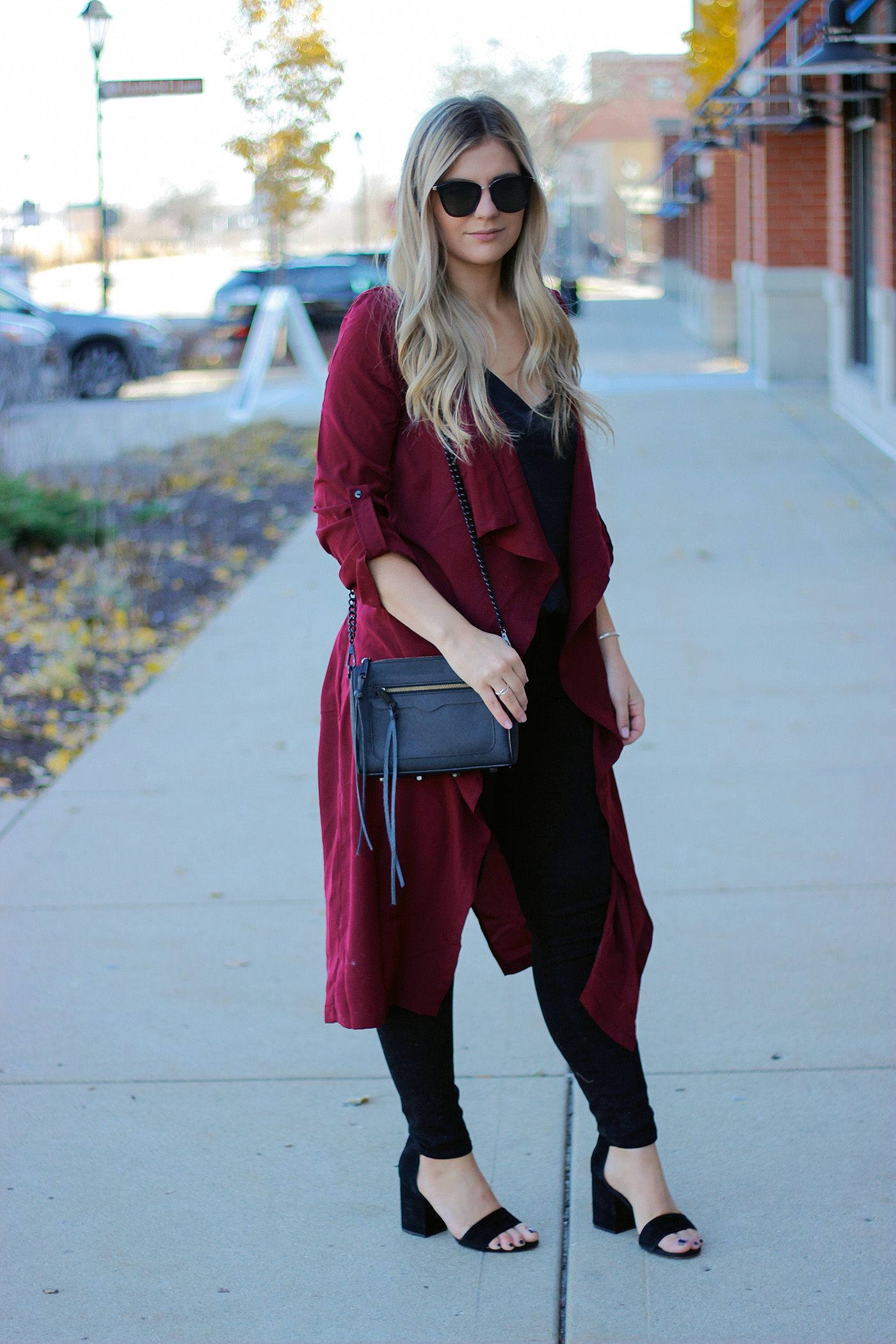 Holiday duster outfit 4