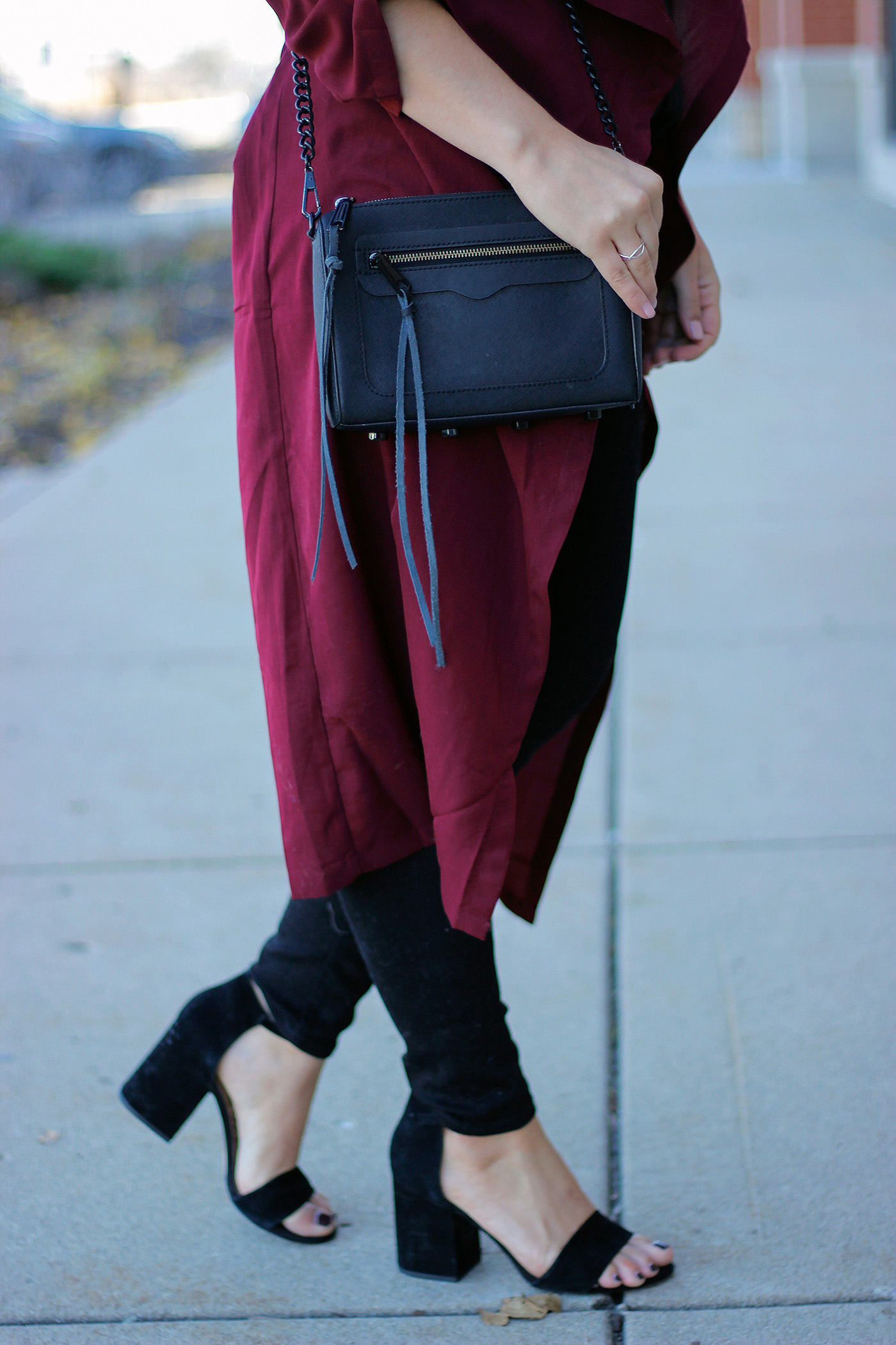 Holiday duster outfit 6