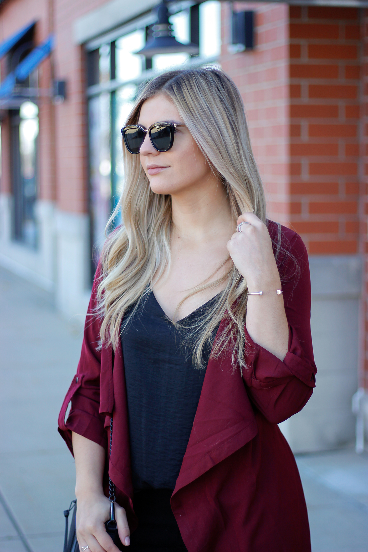 Holiday duster outfit 3