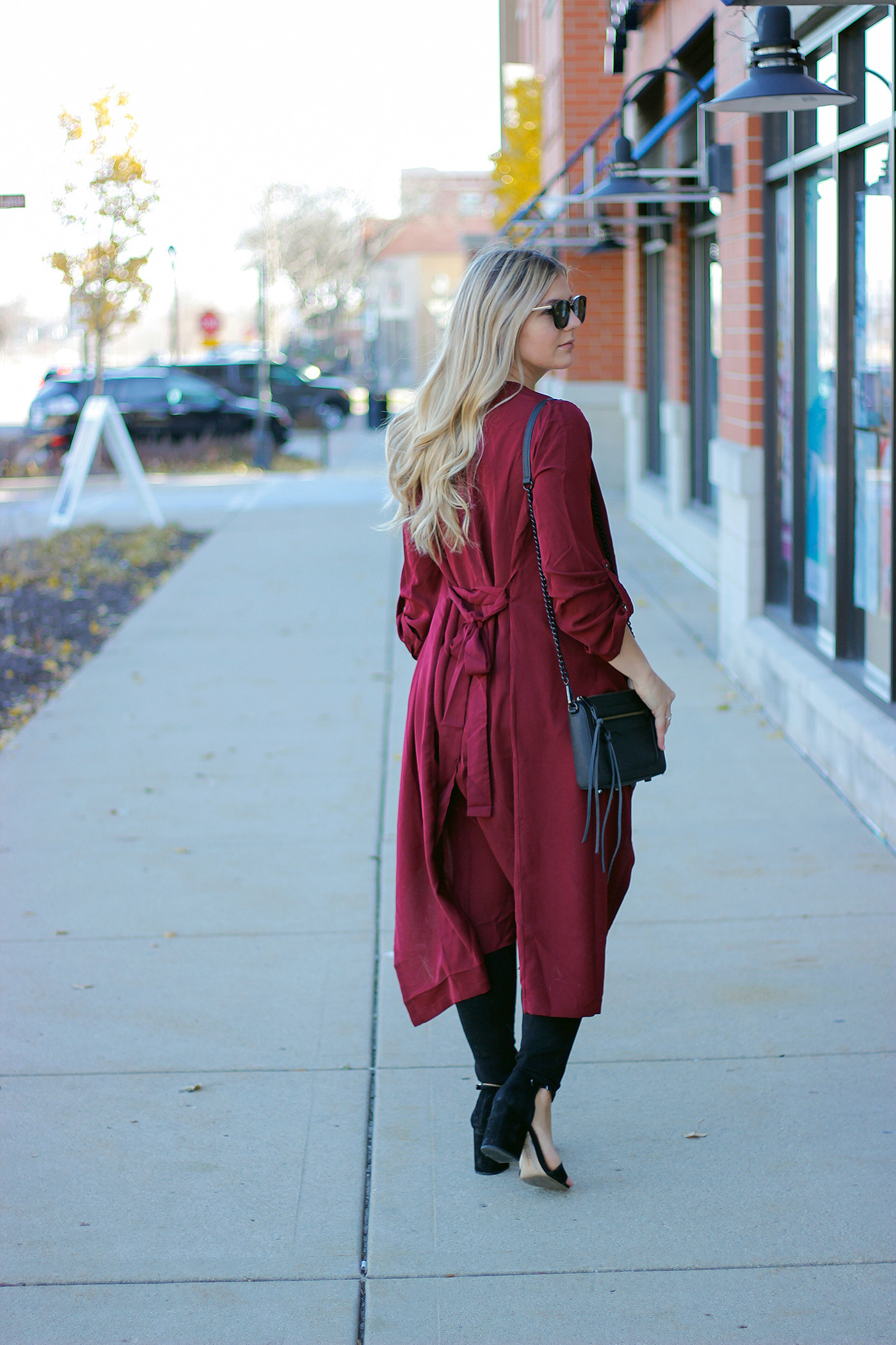 Holiday duster outfit 5