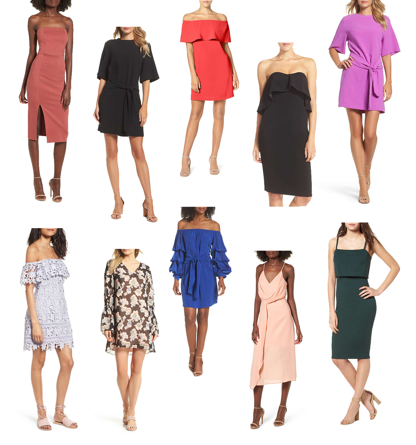 Trendless Finds Under $100: Wedding Guest Dresses