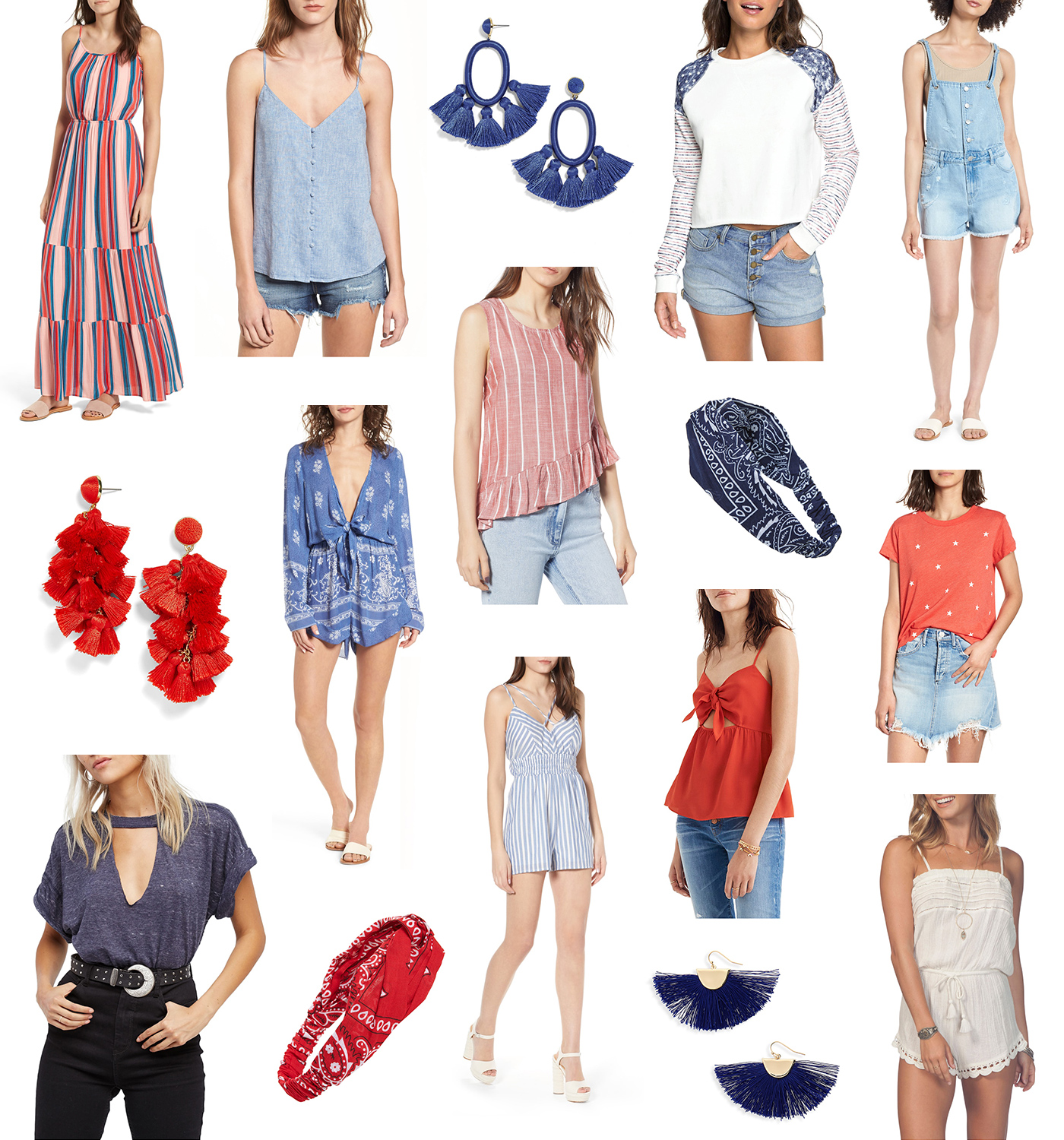 Last Minute 4th of July Outfit Ideas